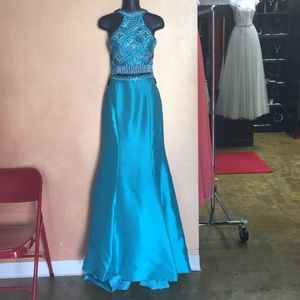 Rachel Allan Dresses - Two Piece Rachel Allan Prom Dress